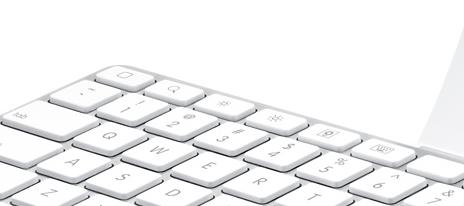 iPad controls on Keyboard