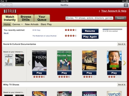 how to make a netflix account on ipad