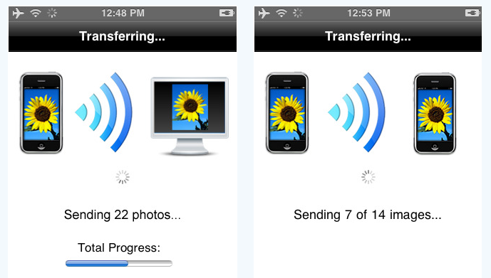 001 photo transfer app