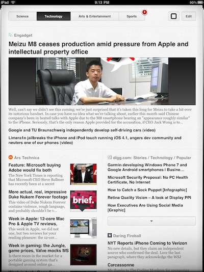 002 Times Reader for iPad