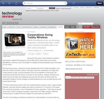 002b Facebook for iPad