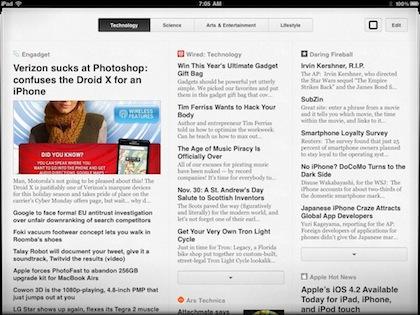 01 pulp news reader for iPad