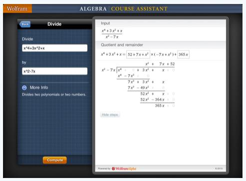 00 wolfram algebra