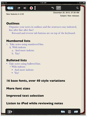 01 notability on the iPad
