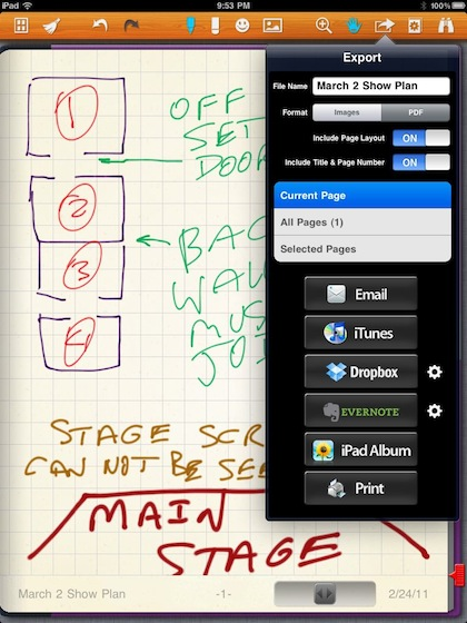 02 sharing notes from the iPad