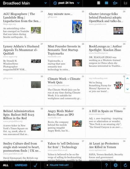 09 broadfeed news for iPad