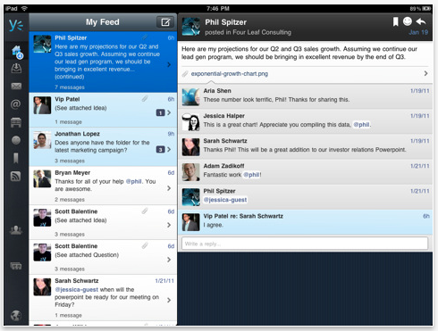 00 Yammer for iPad