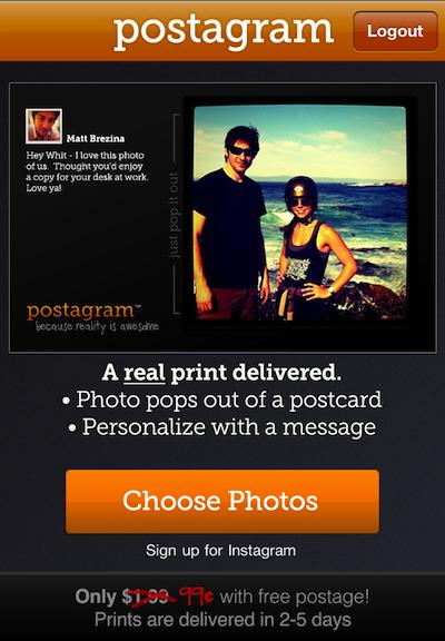 004 postagram postcards for instagram