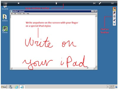 00 handwriting on a PC