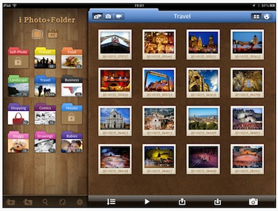 01 Photo Folder HD for iPad