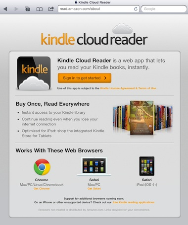 01 kindle cloud for iPad