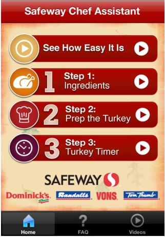 00 Safeway Chef Assistant iPad