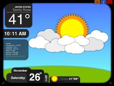01 Better Weather on iPad