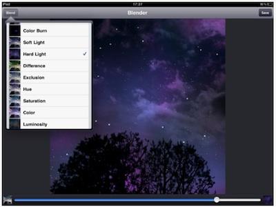 01 image blender for iPad