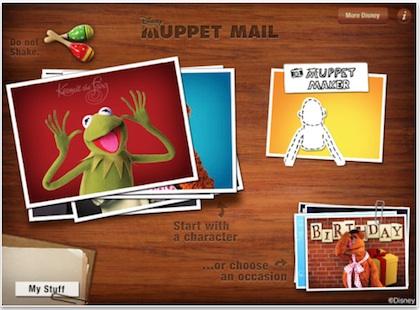 00 Muppet cards iPad