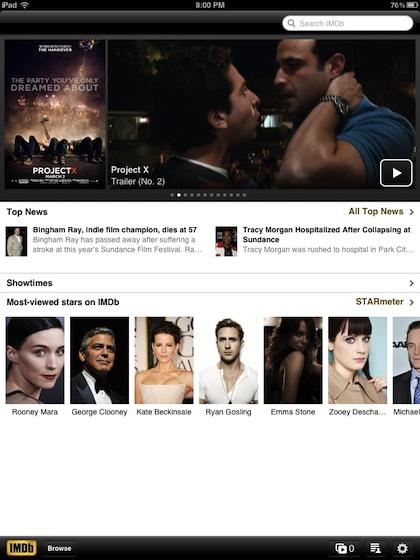 00 imdb for iPad
