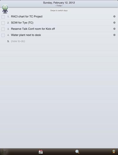 00 that list app iPad