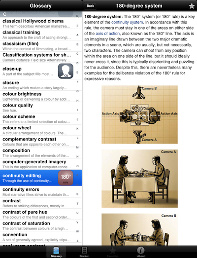 01 Close Up Glossary iPad