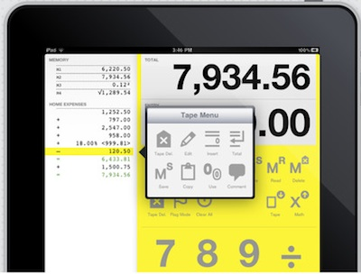 02 digits caculator for iPad
