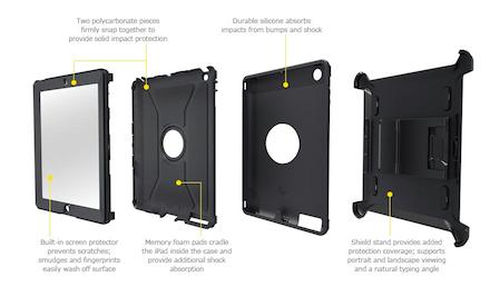 01 Otter Box iProtection iPad