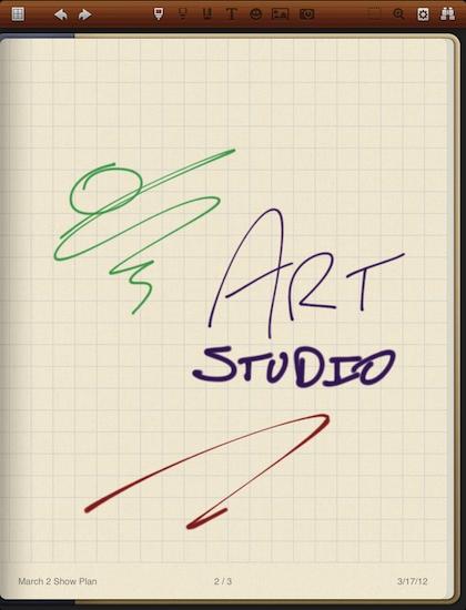 1 Noteshelf for iPad