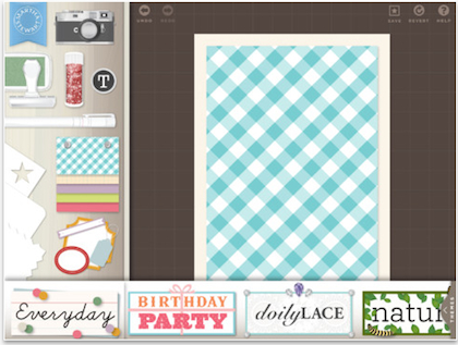 1 martha stewart iPad scrapbook
