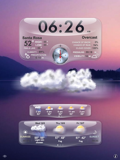 01 Weather Genie iPad