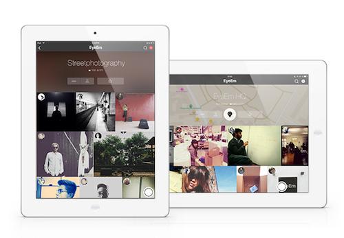 EyeEm iPad